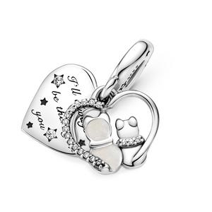Bilde av Pandora Cats & Hearts charm
